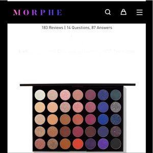 NWT Morphe Stunning Vibes 35V Artistry palette
